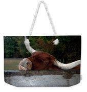 Beware Smiling Bull Weekender Tote Bag