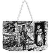Bewick: Beggar Weekender Tote Bag