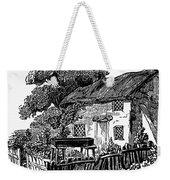 Bewick: Rural House Weekender Tote Bag