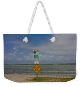 Beyond The End Weekender Tote Bag