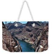 Beyond The Hoover Dam Spillway Weekender Tote Bag