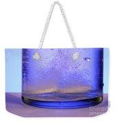 Bicarbonate Of Soda Dissolving In Water Weekender Tote Bag