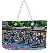 Bicycle Built For Two Weekender Tote Bag
