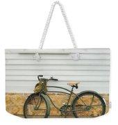 Bicycle By House Weekender Tote Bag