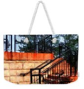 Bicycle By Train Station Weekender Tote Bag