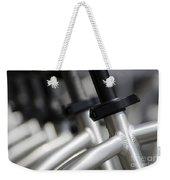 Bicycle Frame Weekender Tote Bag