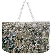 Bicycle Park In Beijing In China Weekender Tote Bag