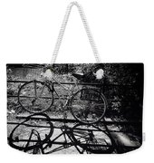 Bicycle Shadow 1 Weekender Tote Bag