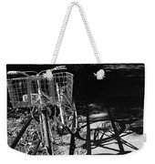 Bicycle Shadow 2 Weekender Tote Bag