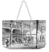 Bicycle Tournament, 1869 Weekender Tote Bag