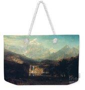Bierstadt: Rockies Weekender Tote Bag