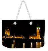 Big Ben And The Houses Of Parliament  Weekender Tote Bag