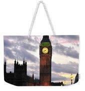 Big Ben Sunset Weekender Tote Bag