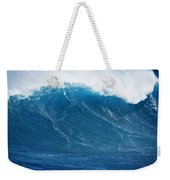 Big Blue Wave Weekender Tote Bag