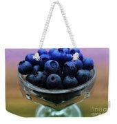 Big Bowl Of Blueberries Weekender Tote Bag