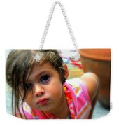 Big Brown Eyes Weekender Tote Bag