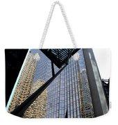 Big City Reflections Weekender Tote Bag