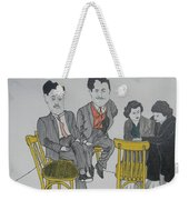 Big Egos Weekender Tote Bag