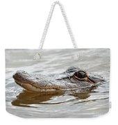 Big Eyes Baby Gator Weekender Tote Bag