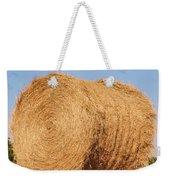 Big Hay Bail Weekender Tote Bag