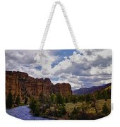 Big Horn National Forest Weekender Tote Bag