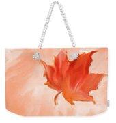 Big Leaf Maple Weekender Tote Bag