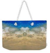 Big Ol Clouds Panorama Weekender Tote Bag
