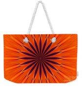 Big Orange Weekender Tote Bag