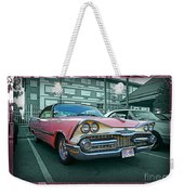 Big Pink Dodge Weekender Tote Bag