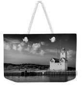 Big Red Lighthouse In Holland Michigan Weekender Tote Bag