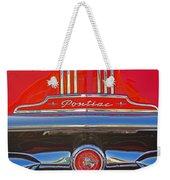 Big Red Pontiac Weekender Tote Bag