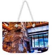 Big Sky Lodge Interior Weekender Tote Bag