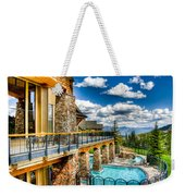 Big Sky Ski Resort Montana Weekender Tote Bag
