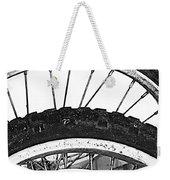 Big Wheels Keep On Turning Weekender Tote Bag by Jerry Cordeiro