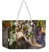 Bike - Ny - Greenwich Village - The Green District Weekender Tote Bag