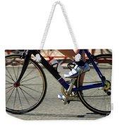Bike Race Weekender Tote Bag