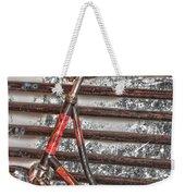 Bikelock Weekender Tote Bag by Jerry Cordeiro
