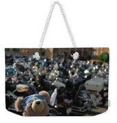 Biker Bear Weekender Tote Bag