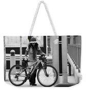 Biker Chick Weekender Tote Bag