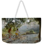 Bikes And Bricks Weekender Tote Bag