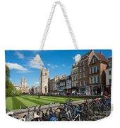 Bikes Cambridge Weekender Tote Bag