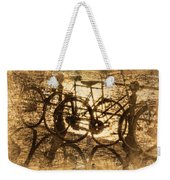 Bikes On The Canal Weekender Tote Bag