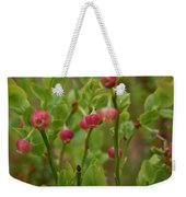 Bilberry Flowers Weekender Tote Bag