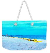 Biloxi Beach Weekender Tote Bag by Scott Crump