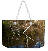 Birch Lake Reflections Weekender Tote Bag