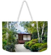 Birch Trees At The Teahouse Weekender Tote Bag