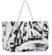 Birch Trees By The Brook Weekender Tote Bag