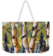 Birches Aglow By Prankearts Weekender Tote Bag