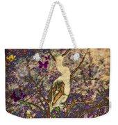 Bird And Butterflies Weekender Tote Bag