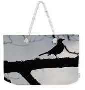 Bird At Dusk Weekender Tote Bag